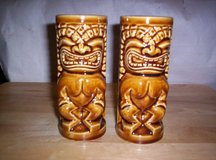 """1971 SET OF 2 """"ORCHIDS OF HAWAII"""" TIKI MUGS, NUMBERED, EXCELL. COND. in Camp Lejeune, North Carolina"""