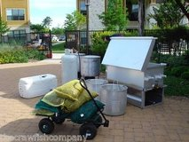 double commercial crawfish shrimp crab lobster clam boiler smoker cooker bbq in Kingwood, Texas