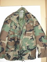Camouflage Field Jacket w/liner in Moody AFB, Georgia