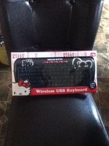 Hello Kitty Wireless Keyboard in Fort Campbell, Kentucky